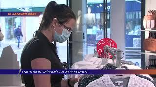 Yvelines | L'actualité résumée en 78 secondes : semaine du 18 au 22 janvier 2021