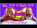 REAL FOOD vs PRANK FOOD CHALLENGE - Magic Box Toys Collector