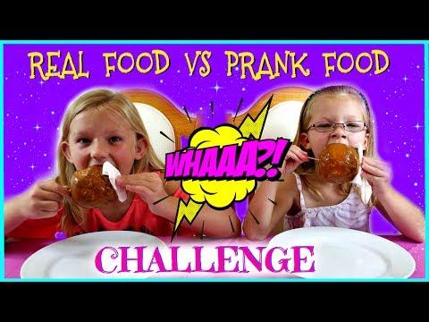 REAL FOOD vs PRANK FOOD CHALLENGE - Magic Box Toys Collector