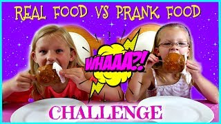 Baixar REAL FOOD vs PRANK FOOD CHALLENGE - Magic Box Toys Collector