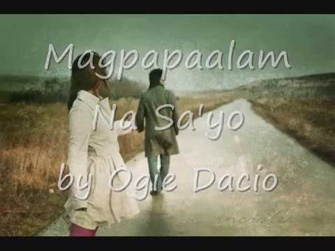 Magpapaalam Na Sayo