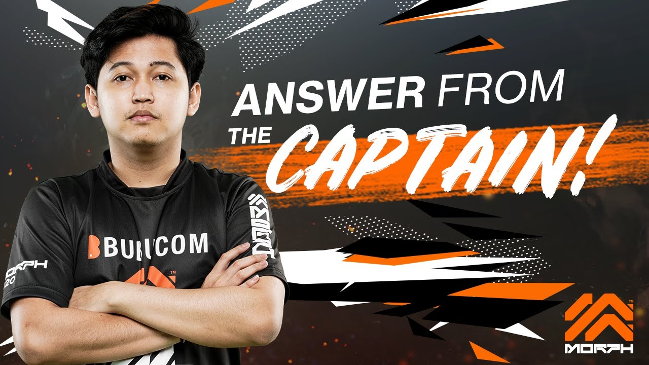 Answer from The Captain : QnA with Jeixy