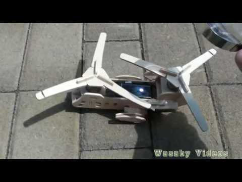 "Magic Trick Free Energy helicopter and efficient free energy generator ""Free Energy"""