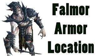 Repeat youtube video Skyrim: The Best Easy to Get Armor (Falmer Armor Location Walkthrough Guide)