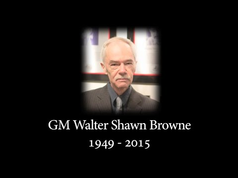 The Legend: Walter Browne - GM Ben Finegold - 2015.06.25