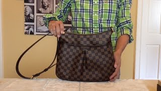 Louis Vuitton Bloomsbury PM Damier Ebene. Simple bag for Daily use
