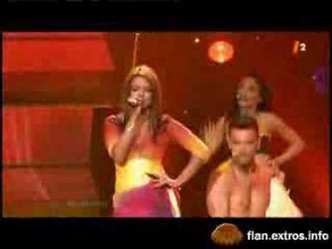 Severine Ferrer - coco dance - eurovision 2006