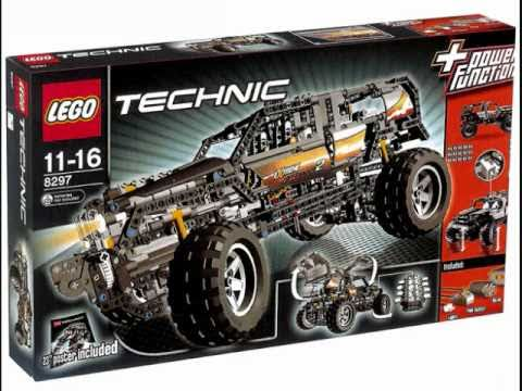 lego technic 8297 primary model off roader youtube. Black Bedroom Furniture Sets. Home Design Ideas