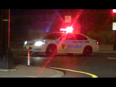 Port Authority Police Department NY & New Jersey cruiser with lights at Newark Intl. [NJ | 7/2013]