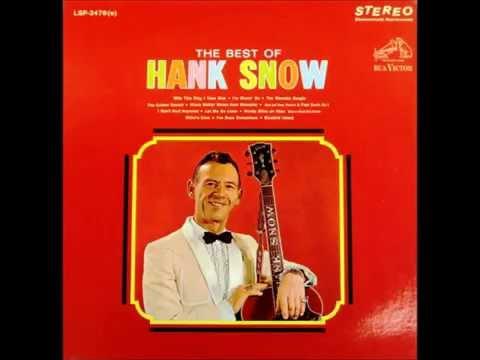 I Don't Hurt Anymore , Hank Snow , 1954 Vinyl
