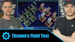 A-Wing Swarm vs. TIE/FO Fighter Swarm | X-Wing Miniatures Game Battle Report