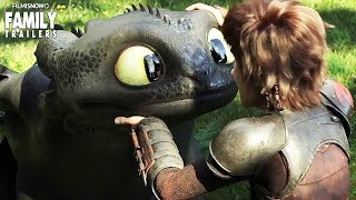 HOW TO TRAIN YOUR DRAGON 3 First Trailer reveals an epic conclusion to the series