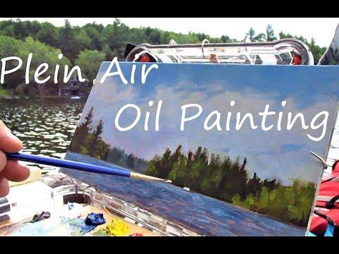 Plein Air Oil Painting Techniques