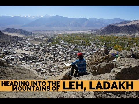 Heading into the Mountains of Leh, Ladakh