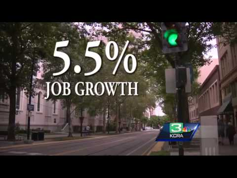 Sacramento County's job growth is highest in the country