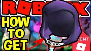 HOW TO GET THE GRIM REAPERS HOOD IN Roblox Halloween Event 2018