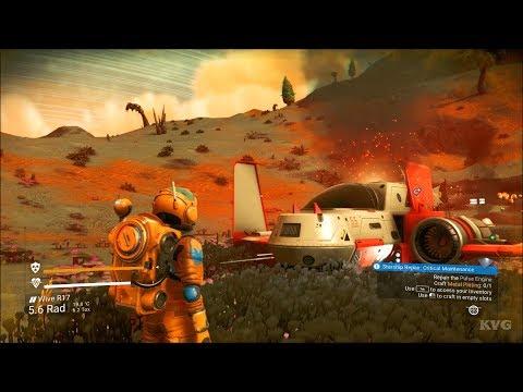 No Man's Sky Gameplay (PC HD) [1080p60FPS]