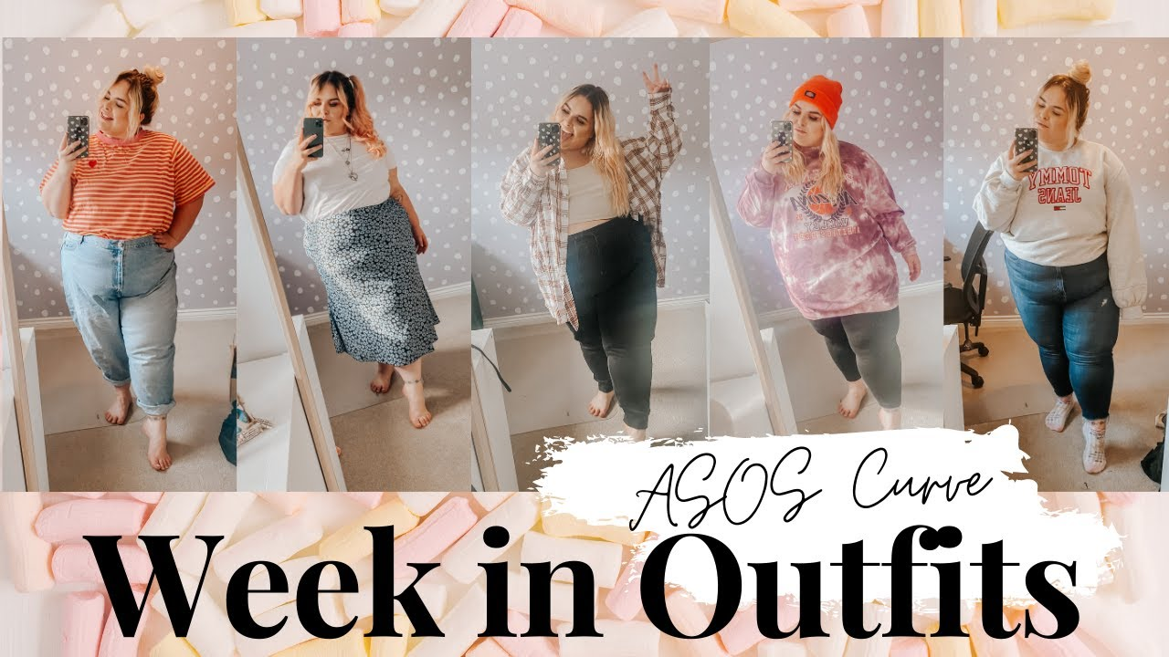 My week in outfits / New in @ ASOSCURVE // Plus Size UK