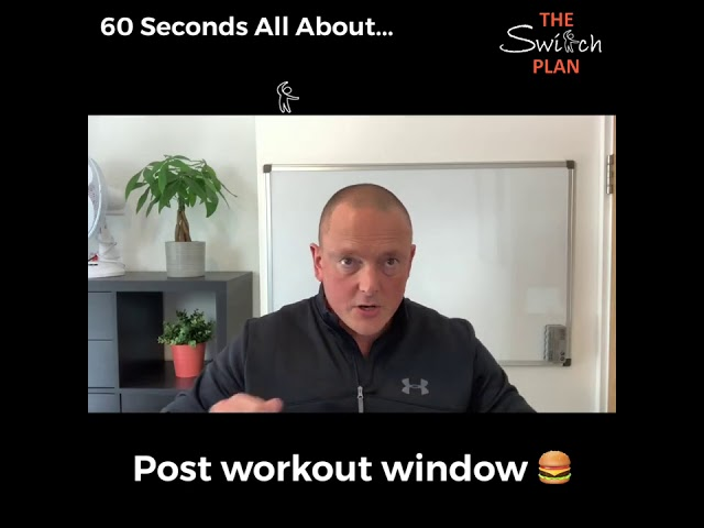 Post Workout Window