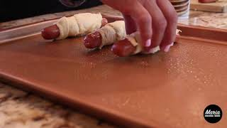 How to make croissant dogs!