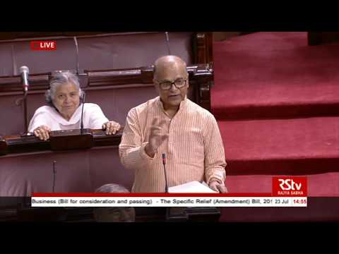 Sh. P. Bhattacharya's remarks | The Specific Relief (Amendment) Bill, 2018