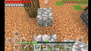 Construindo a primeira parte da casa[ Minecraft survival