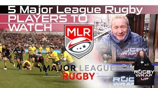 Top 5 Young Major League Rugby Players & Best Coach. Lewis & McCarthy