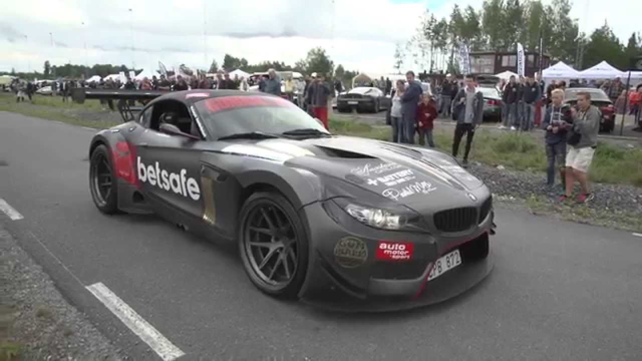 Gumball Bmw Z4 Gt3 Youtube