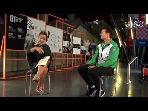 Un árbitro mundialista | Wilmar Roldán desde la exposición Fúbol de Explora