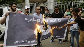 Muslims start campaign to burn ISIS flag