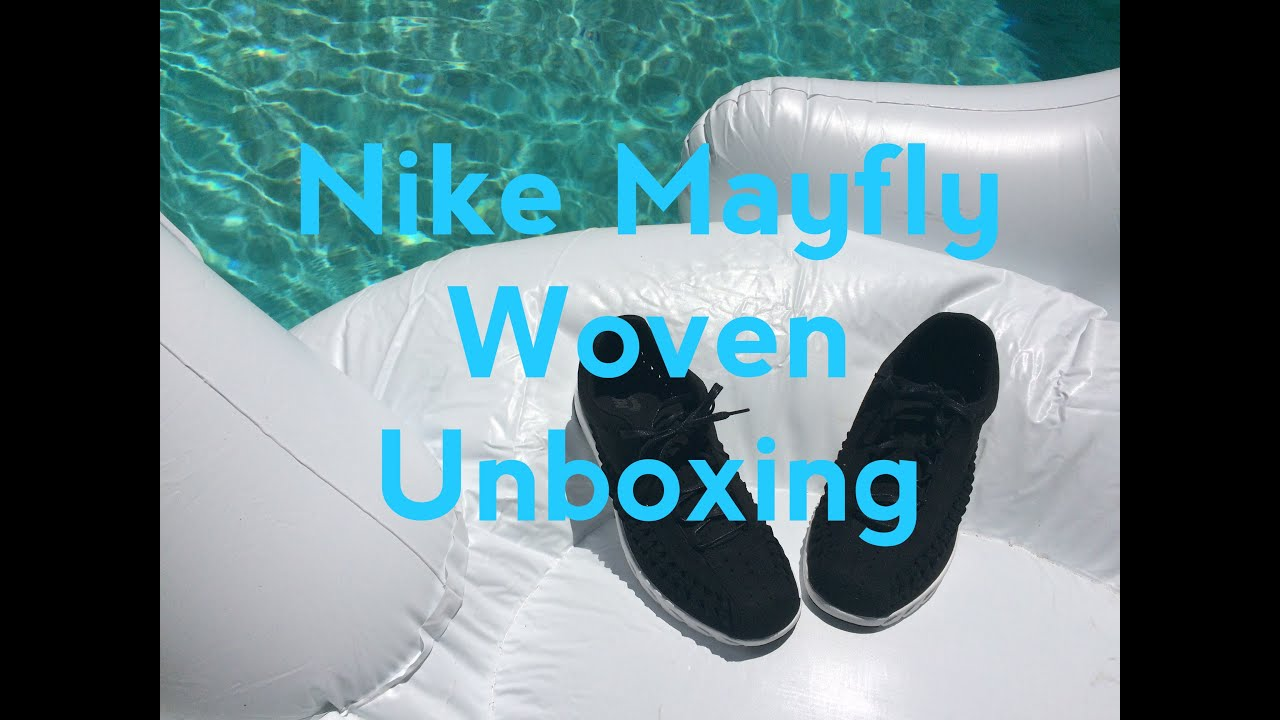 c523c64034af Nike Mayfly Woven Unboxing and Review (On Foot) - YouTube