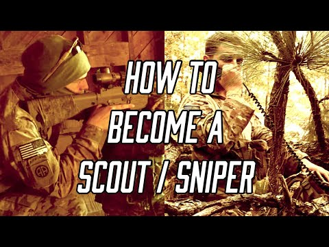How To Become A Scout / Sniper In The US Army