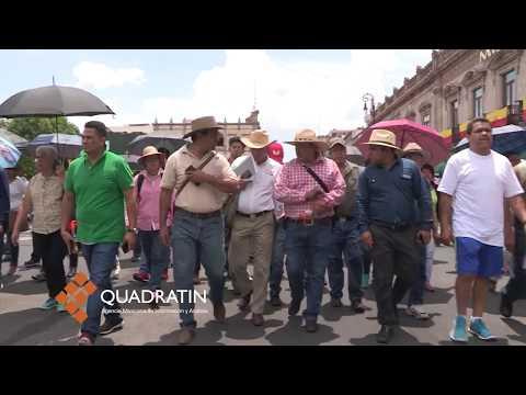 Marcha la CNTE en Morelia para exigir pagos