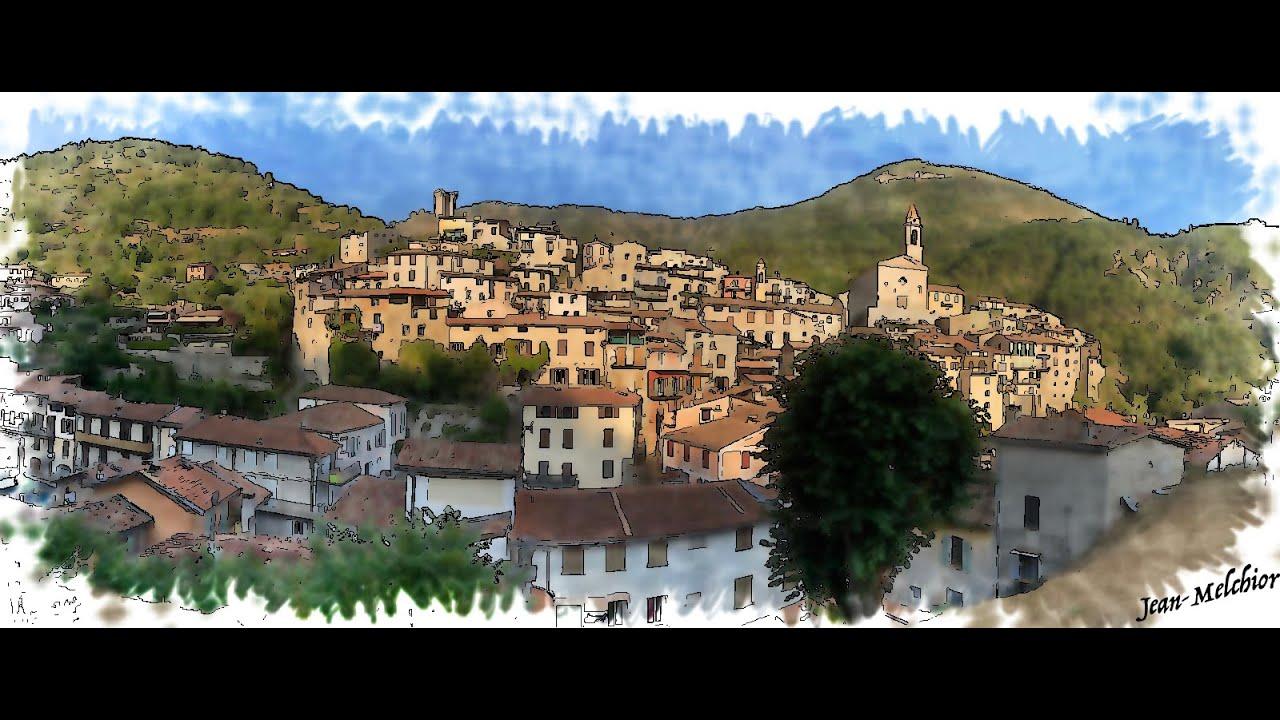 Mon Village de Luceram panoramique