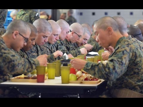 Thanksgiving at Parris Island