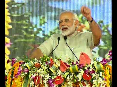 PM Modi's Speech at Foundation Stone Ceremony of Greenfield Airport at Rajkot, Gujarat