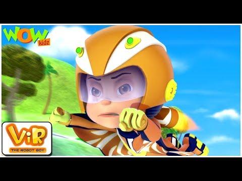 Vir: The Robot Boy - Vir vs Dangerous seven part 2- As Seen On HungamaTV - IN ENGLISH | WowKidz
