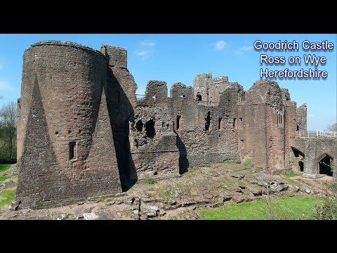 Goodrich Castle Herefordshire 1148-76.