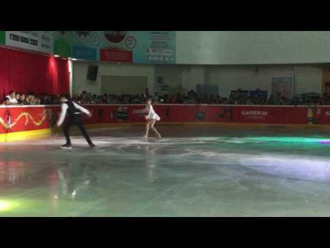 ❄️Christmas Ice Show- Pair Dance❄️
