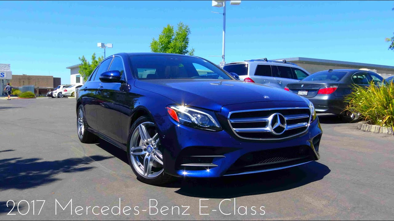2017 Mercedes-Benz E Class (E300) 2.0 L Turbo 4-Cylinder Review ...