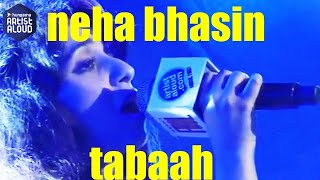 Tabaah I Song I Live Performance I Music Day I Neha Bhasin I ArtistAloud.com