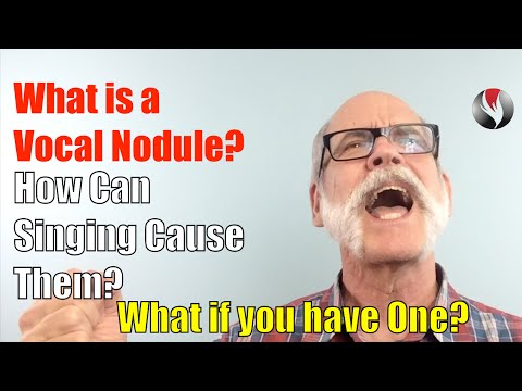 nodules vocaux ep 101 what is a vocal nodule? how can singing cause them? what if you have one?