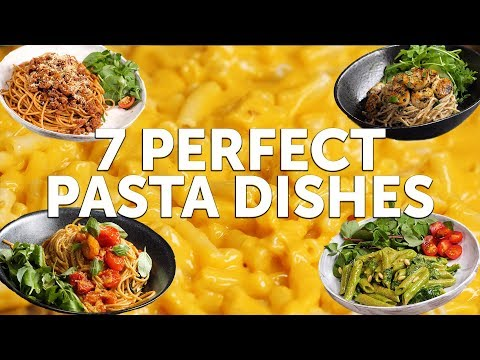 7 PERFECT PASTA DISHES | BOSH! | VEGAN