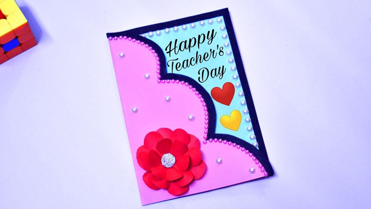 2019 DIY Teacher's Day Card / Handmade Gift For Teacher ...