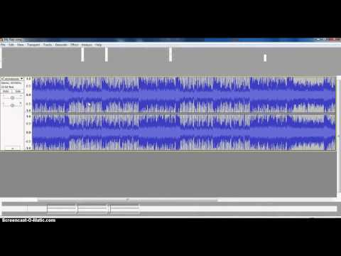 Saving Audacity Files