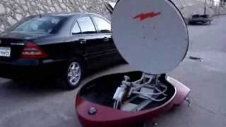 Self Deploying Satellite Communication Antenna Made in Egypt