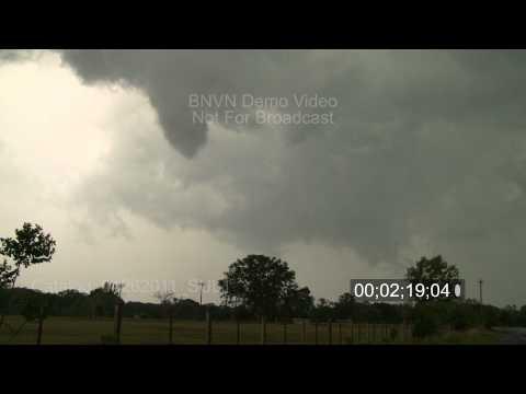 4/26/2011 Eustace, TX Tornado stock footage catalog