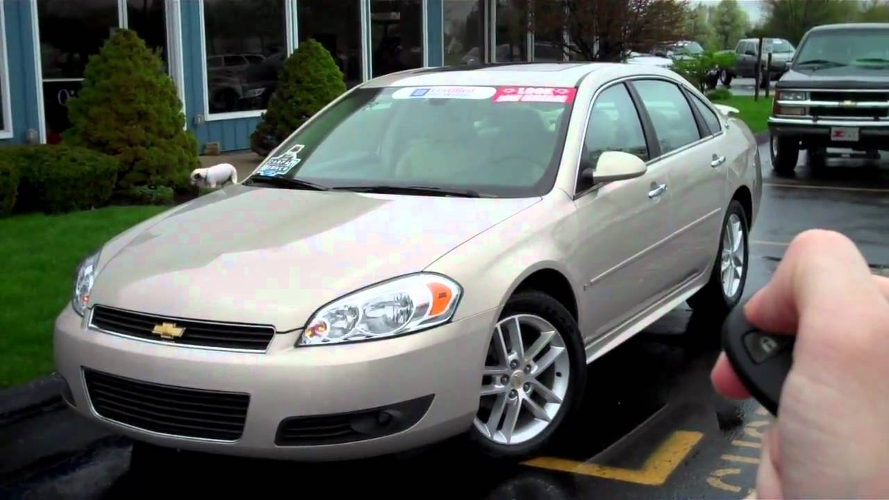 2009 impala ltz at devoe chevy youtube. Black Bedroom Furniture Sets. Home Design Ideas