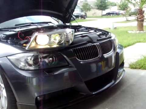 e90 andy e90 e91 pre lci halogen to lci xenon conversion. Black Bedroom Furniture Sets. Home Design Ideas