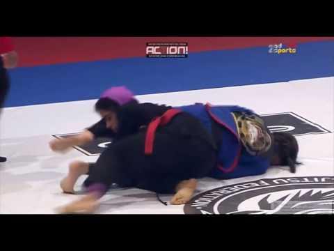 Abu Dhabi World Youth Jiu-Jitsu Championship 2017  YELLOW TEEN 48kg semi-final Ayumi Kanashiro